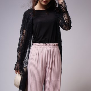 Lace custom series imported lace romantic blouse