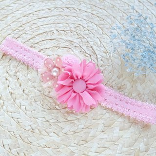 Baby headband - sun flower baby hair band (100 day banquet for personal use)