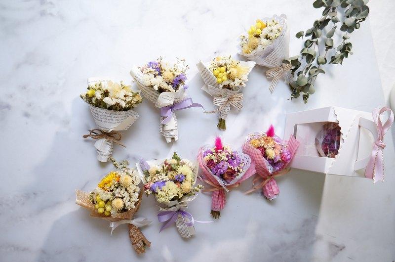 Elk Flower Amor Floral- Mini Palm Size Bouquets / Wedding Small ...