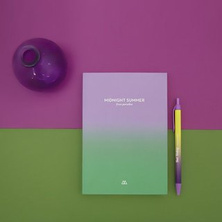 Second Mansion Midsummer Night Gradual Perpetual Calendar Zhou Zhi V2-04 Dream Purple Green, PLD60887