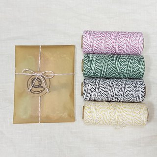 American Divine Twine cotton set / optional 5 colors / Christmas gift packaging essential