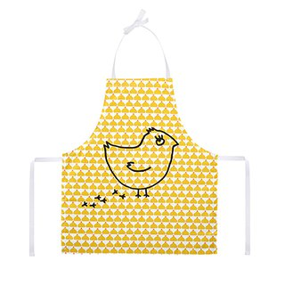 Kitchen Good Time Kids Apron Chic Chick Ocre Coquito