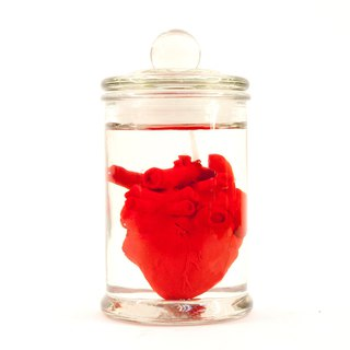 EYE LAB red heart canned scented candle