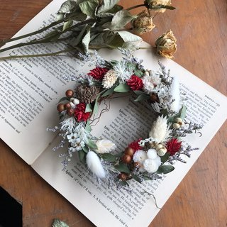 Mini Wreath / Wedding Small Things / Dry Flowers / Dry Wreath / Valentine's Day Gift / Christmas Wreath / Customized