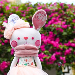 [cloth commemorative doll] rabbit