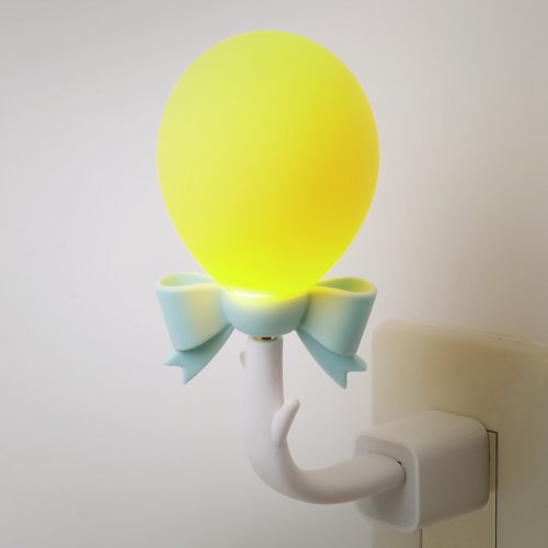 Vacii DeLight balloon USB situations lamp / night light / bedside lamp - Yellow