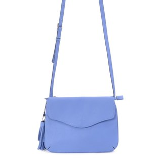 La Poche Secrete: Naughty girl's accompanying envelope bag _ hand shoulder bag _ sky blue