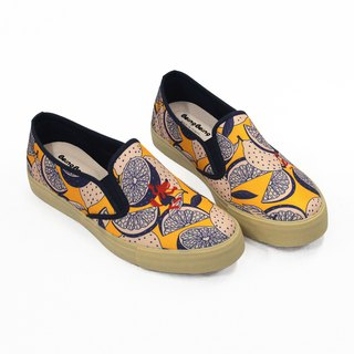 Fairytale casual shoes (adults) - Little Red Riding Hood and Big Wolf Women's Shoes Lemon Cake Taichung