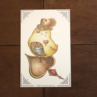 Steam Punk Series - Chick Postcard