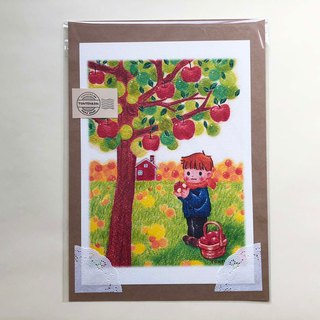 Apple picking ポスターno.182
