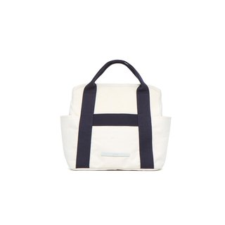 Roaming Series-Leisure Crossbody Bag (Slanted Back/Handheld)-Blue and White-RCR295WN