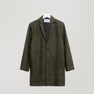 Green Dotted Coat