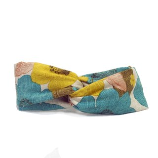 Japanese style wind cloth | hair band