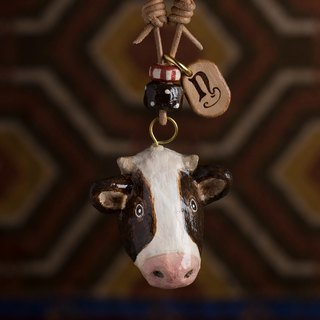 Cattle Pendant Necklace / Animal Item