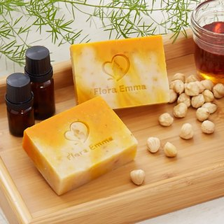 Hazelnut Honey Moisturizing Soap * Toddler / Sensitive Muscle - Emma Handmade Soap Expert