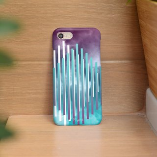 iphone case purple blue cloud for iphone5s, 6s, 6s plus, 7, 7+, 8, 8+, iphone x