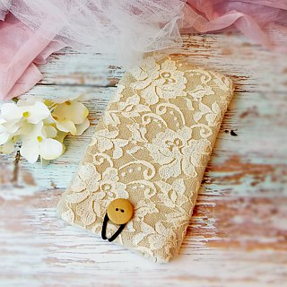iPhone sleeve, iPhone pouch, Samsung Galaxy S8, Galaxy note 8, cell phone, ipod classic touch sleeve - Lace series (P-239)