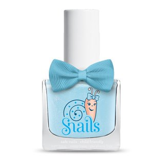 (Frozen Aisha cloak color) Bedtime stories bedtime story (translucent sky blue + red powder) / snails Greek mythology, children, non-toxic water-based nail polish /
