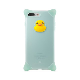 Bone / iPhone 8 Plus / 7 Plus Bubble Protector Case - Duck