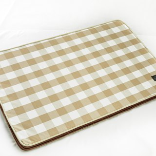 Lifeapp Sleeping Pad Replacement Cloth --- L_W110xD70xH5cm (Brown White) does not contain sleeping mats