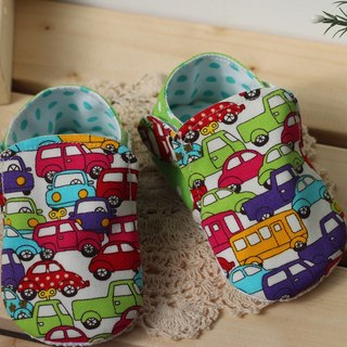 Fun car toddler shoes