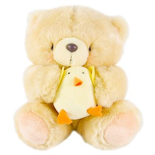 8 吋/Chick Partner Fluffy Bear [Hallmark-ForeverFriends Plush-Vendor Series]