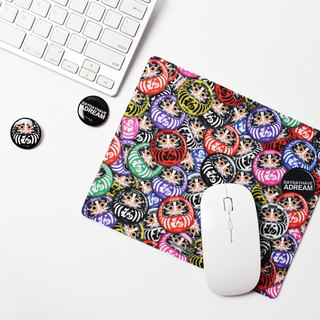 Spot a lot of desire to achieve [Jesus] original pledge Bodhidharma Bodhidharma tumbler big wish achievement mouse pad mouse pad