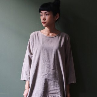 OMAKE Select Natural Persimmon Long Sleeve Top Hazel
