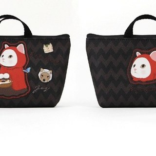 Jetoy, sweet cat bag type Pouch _Red hood J1609402