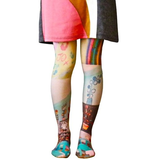 Jue Original Tights / Classroom Pattern
