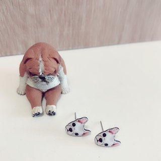 Dog Earrings series
