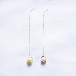 ∥Cheng Jewelry∥ Hannah's Prayer - pearl silver earring