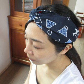 Cross hair band (elastic hand) - Japanese Fuji
