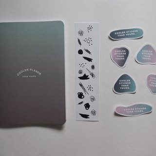 Set of color book cover (cover type 1)