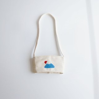 [Q-cute] hollow drink bag series - large cup of Mount Fuji