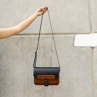 Wooden Bag - TS Shoulder (Black)