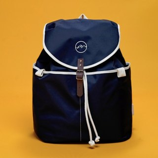 |Spanish handmade | Ölend Ringo MINI waterproof nylon backpack (Navy Blue)