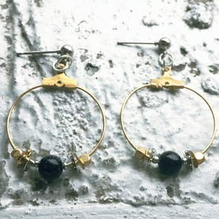 Frozen Time | Gear earrings (round)