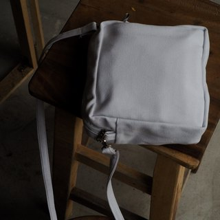 WHITE SQUARE BAG