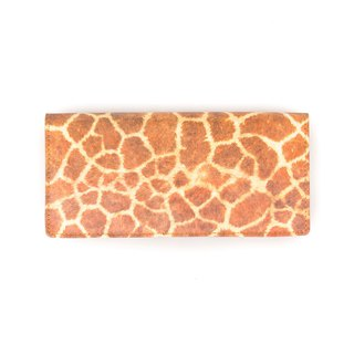 ONEDAY DuPont Paper Long Wallet Giraffe Leopard Men and women Wallet Tears Rotten Waterproof Strong Wearable tide