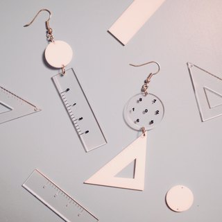 Math password earrings