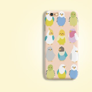 Colorful Parrot AOP Matt finishes rigid hard Phone Case Cover for iPhone X 8 7+