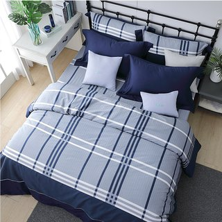 (Double) Moonlight - Scottish Concerto - High-quality 60 cotton dual-use bed bag four-piece group 5*6.2 feet