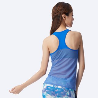 [MACACA] Jing Ning Beauty 3D Fixed Chest Pad Vest - AUG1512 Sapphire Blue