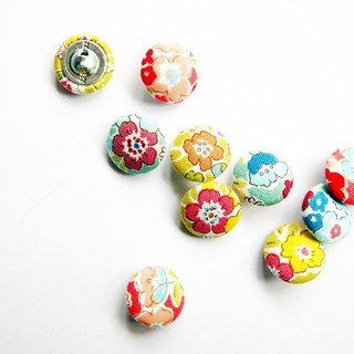 Sewing knitting cloth buckle handmade material flower buttons
