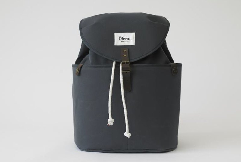 |Spanish handmade | Ölend Ringo canvas backpack/computer bag (Grey Grey)