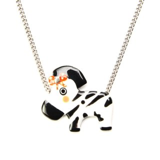 【Paris, France TARATATA】 animal zebra pendant necklace series