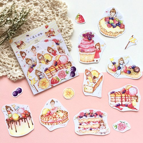 [Little Country NUS Sweets] 8 in sticker set