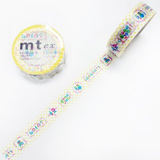 mt ex Masking Tape【Message (MTEX1P159)】2018AW