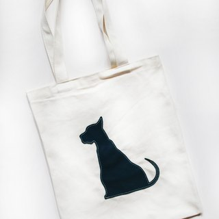 Sheep dog canvas bag / shoulder bag